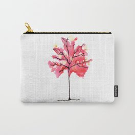 Autumn Tree Watercolor Paintig Carry-All Pouch