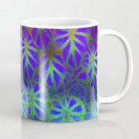 rare Mugs featuring Rare Jungle, Magic Moon by Lindel Caine