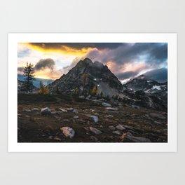 The North Cascades Art Print