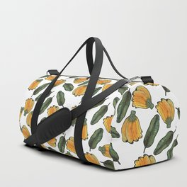 banana and banana leaf Duffle Bag