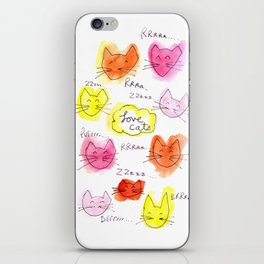 Lovecats iPhone Skin