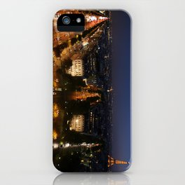Paris from the Arc iPhone Case