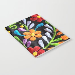 Mexican Flowers Notebook
