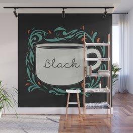 Black as my soul Wall Mural