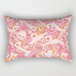 Weapon Floral Rectangular Pillow