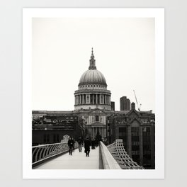 St Pauls Cathedral Art Print