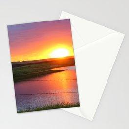 North Dakota Sunset Stationery Cards