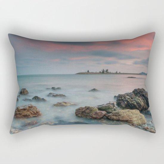 sea nature beach 4 Rectangular Pillow