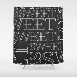 Sweet Type Shower Curtain