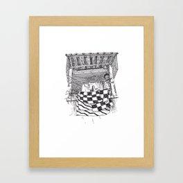 Sèche-linge Urbain Framed Art Print