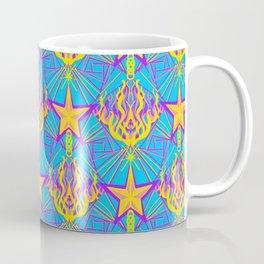 Starfire Kaleidoscope (Apollo Flame) Coffee Mug