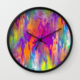 Marshmellow Skies Wall Clock