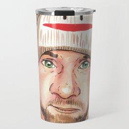 the Sock Monkey Boy Travel Mug