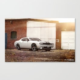 Dodge Challenger SRT8 Canvas Print