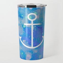 Anchor Symbol Travel Mug