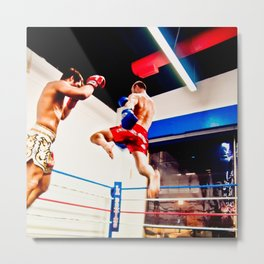 Fight : Jump Metal Print