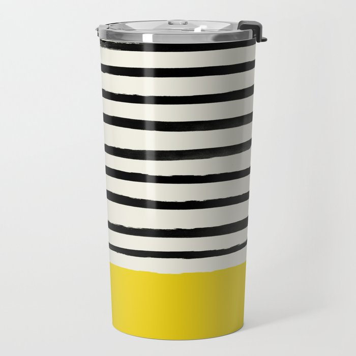Sunshine x Stripes Travel Mug