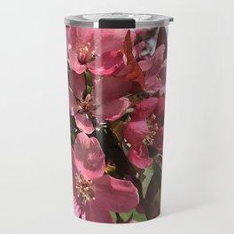 Crab Apple Blossoms Travel Mug