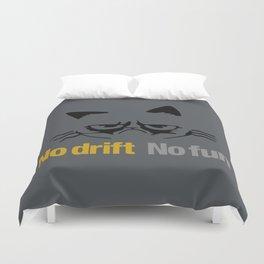 No drift No fun v1 HQvector Duvet Cover
