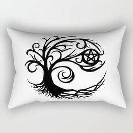 Pentacle Tree Rectangular Pillow