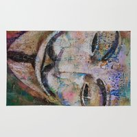 anonymous Area & Throw Rugs featuring Anonymous by Michael Creese