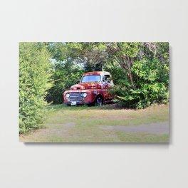 1950 Ford F100 Metal Print