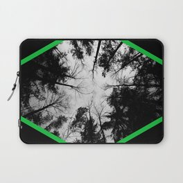 Grey forest Laptop Sleeve