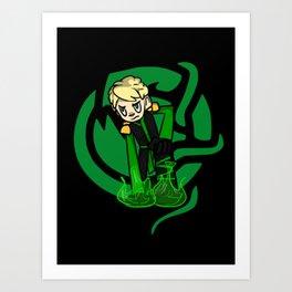 Green Lloyd Art Print