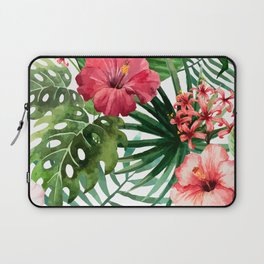 FLOWERS WATERCOLOR 8 Laptop Sleeve