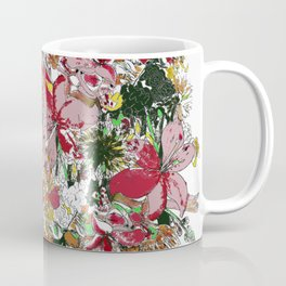 Flowers bouquet (white) Coffee Mug