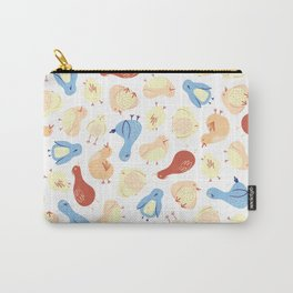 Doodle Birds Carry-All Pouch