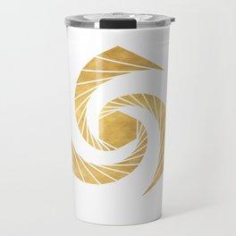 GOLDEN MEAN SACRED GEOMETRIC CIRCLE Travel Mug