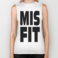 misfits Biker Tanks featuring misfits rock. by quality products