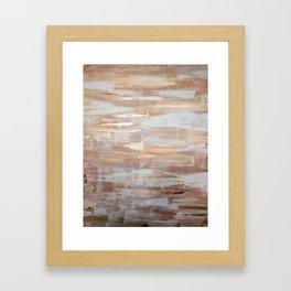Rose Gold Framed Art Print