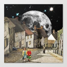 Anglican Lunar Canvas Print