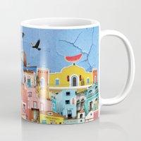 mexico Mugs featuring Mexico by Francesca Sacco