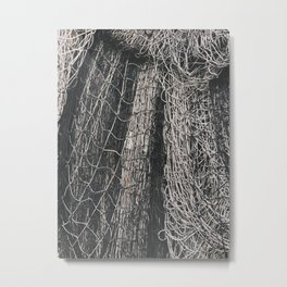 Net Pile II Metal Print