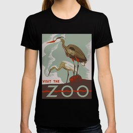 Visit the Zoo - African Birds T-shirt