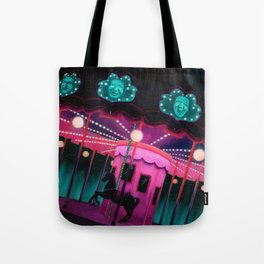 Pink and Purple Carnival Tote Bag