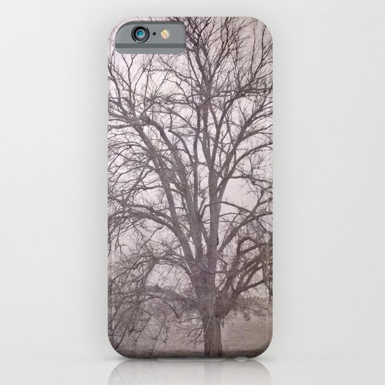The big tree under the storm iPhone & iPod Case