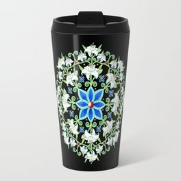 Folkloric Flower Crown Travel Mug