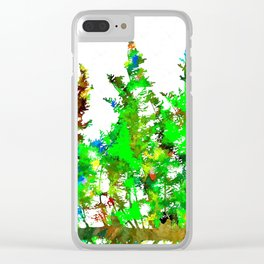 Branches Clear iPhone Case