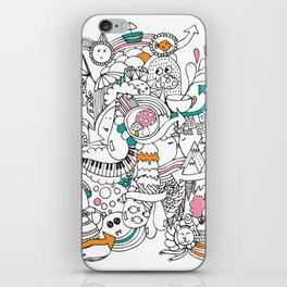 My Happy Doodle iPhone Skin