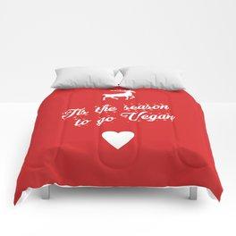 Tis The Season To Go Vegan Comforters