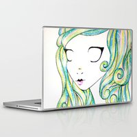 fairy Laptop & iPad Skins featuring Fairy by Caitlin Roberts