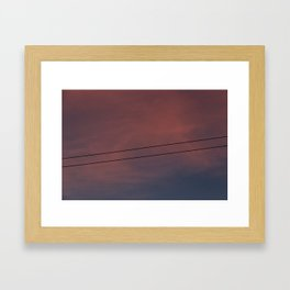 Universal connection II Framed Art Print