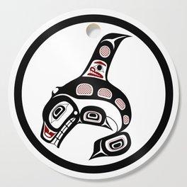 Northwest Pacific coast Haida art Killer whale Cutting Board