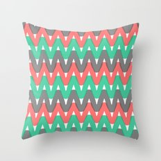 Summer Pattern 3 (Watermelon) Throw Pillow