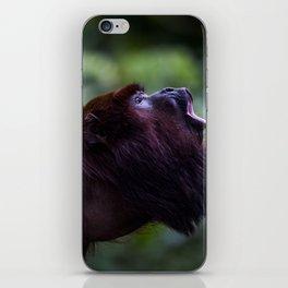 Mono Aullador iPhone Skin