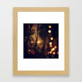 Bookeh 2 Framed Art Print
